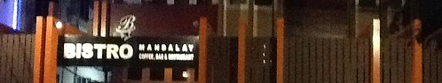 Bistro Night Sign