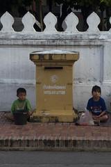 Beggar kids.