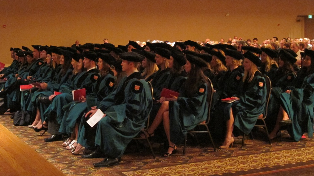 Program in Physical Therapy 2012 Diploma & Hooding Ceremony | Washington University in St. Louis