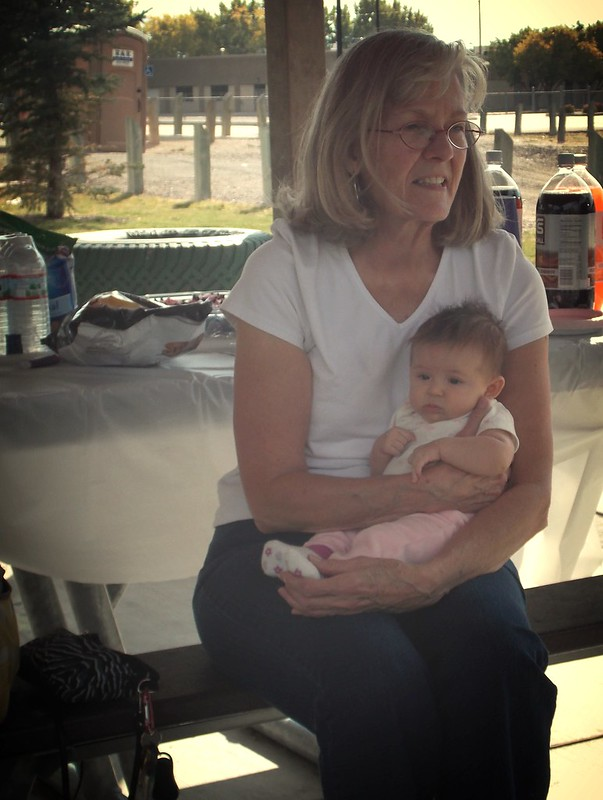 Grandma Grace and Elise