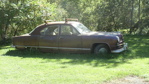 "Old ""Kaiser"" seen near geocache in Cassville, NY by JuneNY"