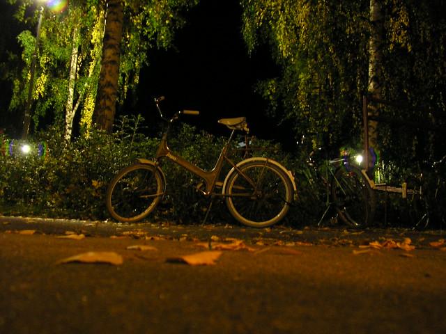 Una bicicleta en Finlandia
