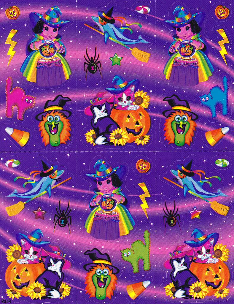 Lisa Frank Halloween Pigmarella Nicole Flickr