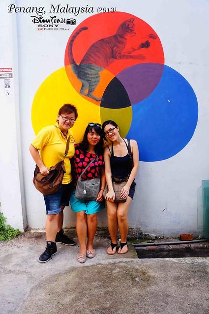 07. Penang's Art Street