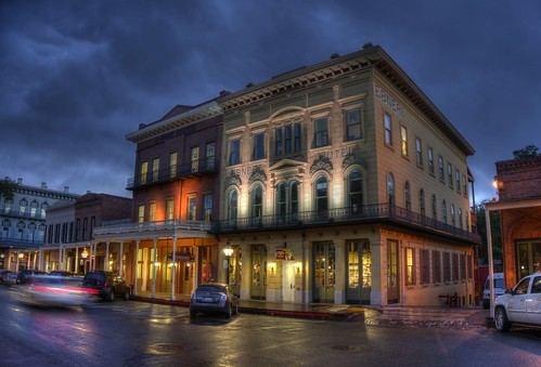 night clouds raw cloudy sacramento oldtown wildwest hdr oldsacramento photomatix fav100 1xp nex6 thephotographyblog ebnerhotel selp1650