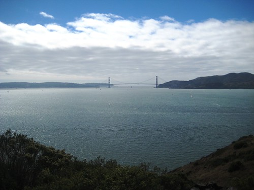 The Golden Gate from Angel Island
