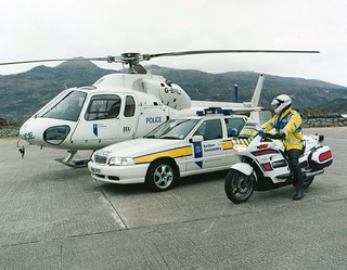 Northern Constabulary Force Helicopter 1998