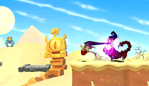 Shantae: Half-Genie Hero on PS3, PS4 and PS Vita