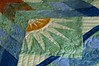 Detail of Summer Solstice by artful quilter