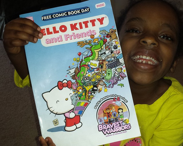 Mihret's Hello Kitty comic from Free Comic Book Day 2014