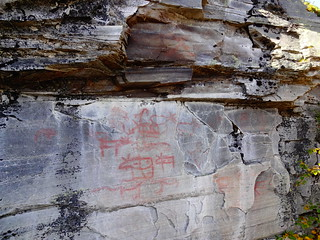 Flatruet Stone Age rock paintings