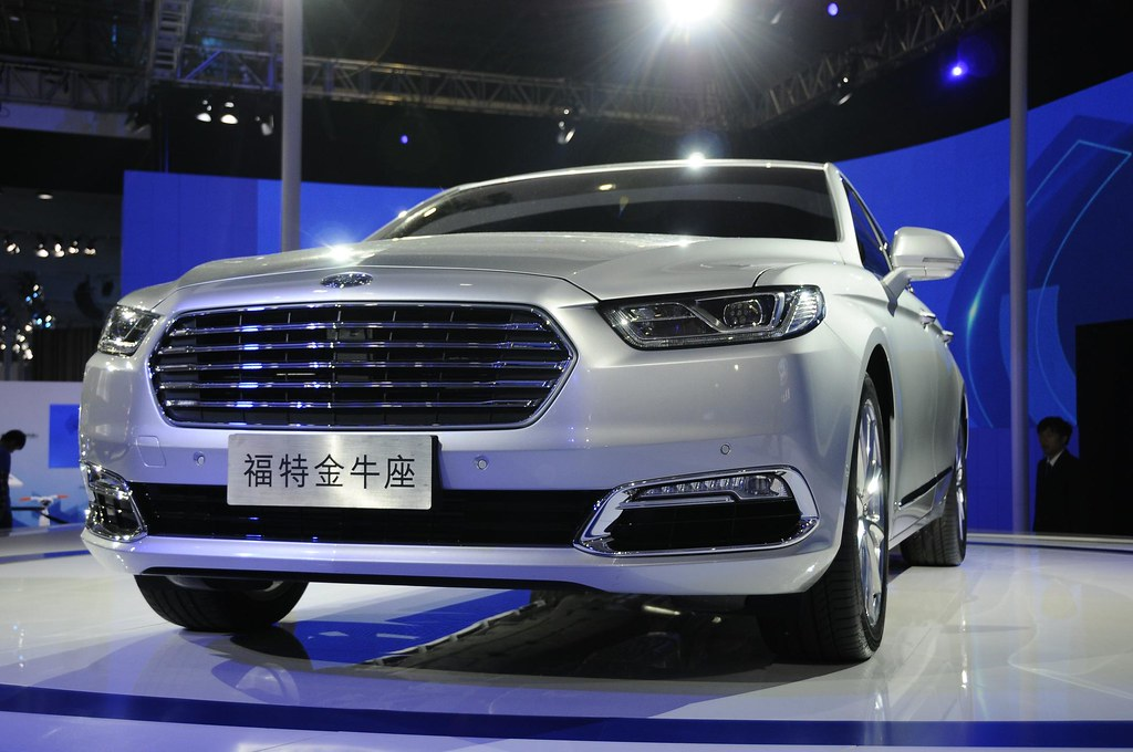2016 Ford Taurus live photos: 2015 Shanghai Auto Show