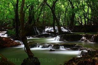 Si Khit Waterfalls (น้ำตกสี่ขีด) 1 - Sichon, Nakhon Si Thammarat, Thailand