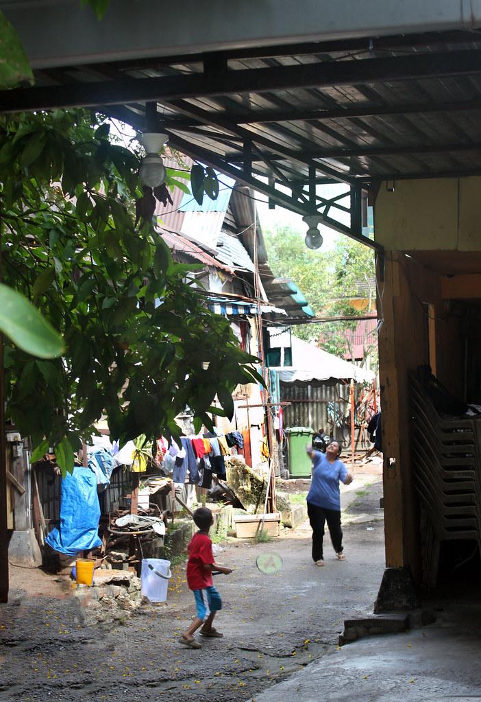 slummen i Kuala Lumpur