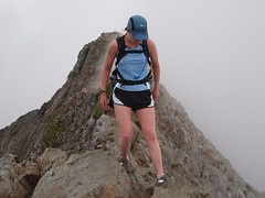 Helen on Crib Goch Image