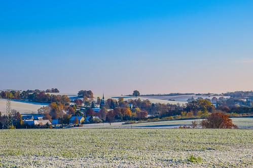 Heimatland - Blick nach Erlbach-Kirchberg