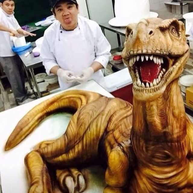 Dinosaur Cake by Heidi Bondoc