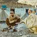 Karakoram Hwy 1986.  Keeping warm by johnjackson808