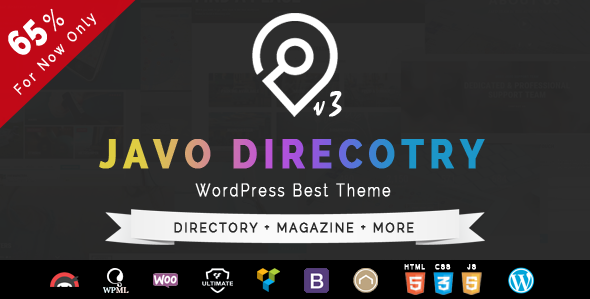 Javo Directory v3.1.5 - Wordpress Theme