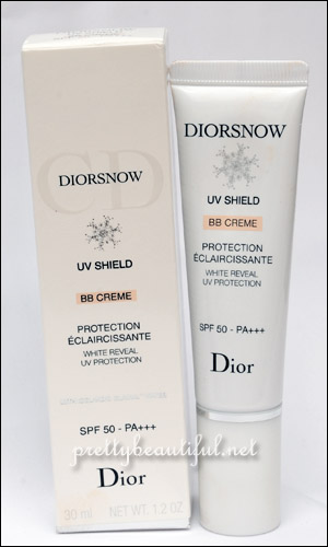 Dior Snow UV Shield BB Cream SPF 50 PA+++