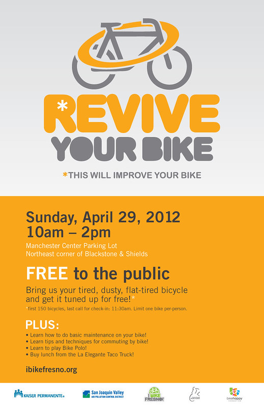 Revive Your Bike 2012 - Poster