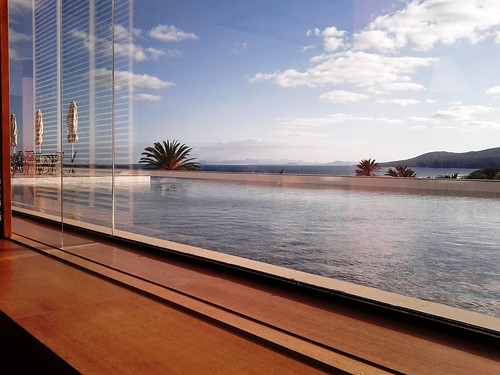 view from the hotel piano bar