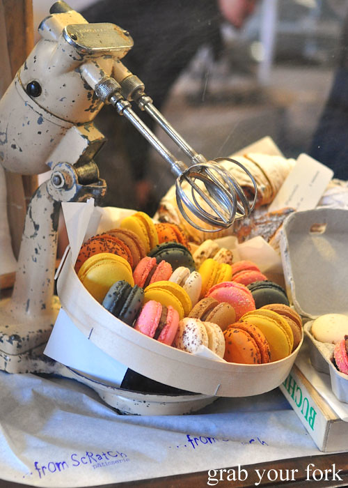 Macarons by From Scratch at the Adelaide Showground Farmers Market