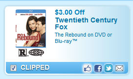 The Rebound On Dvd Or Blu-ray Coupon