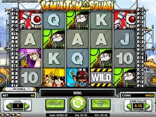 Demolition Squad slot game online review