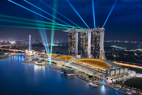 Sapphire Dreams || The Exquisite Marina Bay, Singapore