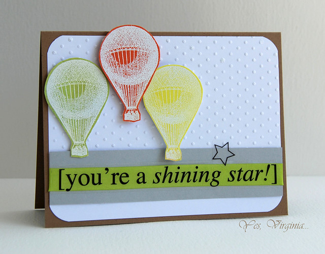 you're a shinning star!