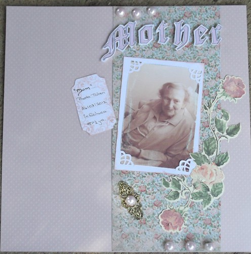scrapbook boutique colour challenge by elainec4