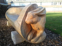 carving, art, chainsaw carving, wood, sculpture, statue,