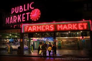 Seattle, Washington - Pike Place Public Market
