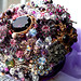 Brooch Bouquet Dazzling Purple V