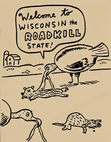 Road Kill State by Lloyd Dangle