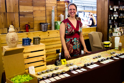 Tupelo Honey Teas at the Pittsburgh Public Market