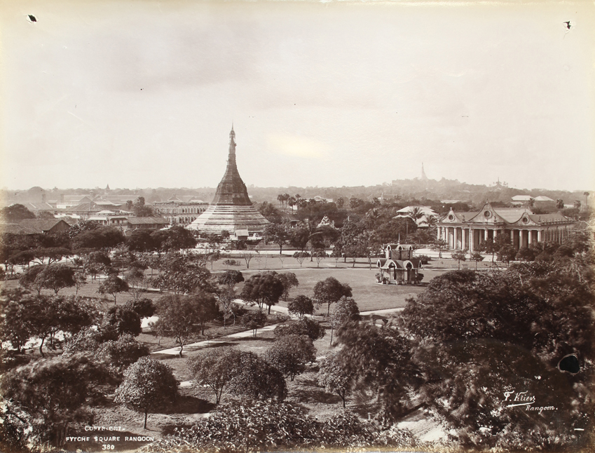 Fytche Square, Rangoon