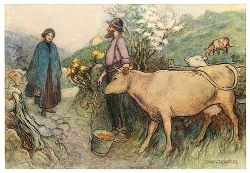 014-En las puertas del campo-Irish ways-1909-ilustraciones de Warwick Goble