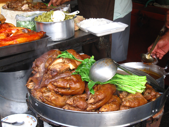 Khao Ka Moo (Soy Sauce Pork) ข้าวขาหมู
