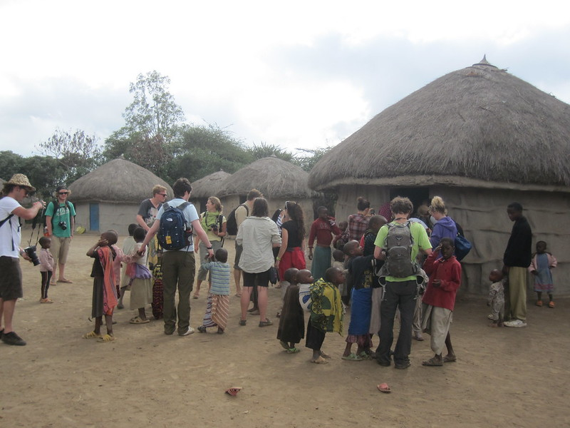 Masai Visit Tanzania Africa