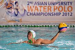 Asian University Water Polo Championship 2012