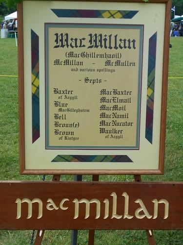MacMillan clan