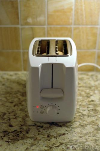 トースター, ベーグルモード付き / Toaster w/bagel mode