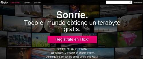 El nuevo flickr del terabyte