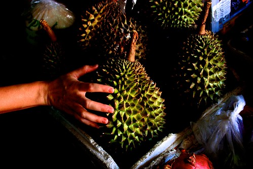 durian. what we later discovered as our least favorite fruits