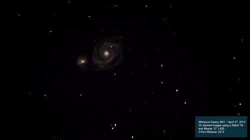 The Whirlpool Galaxy Messier 51 M51