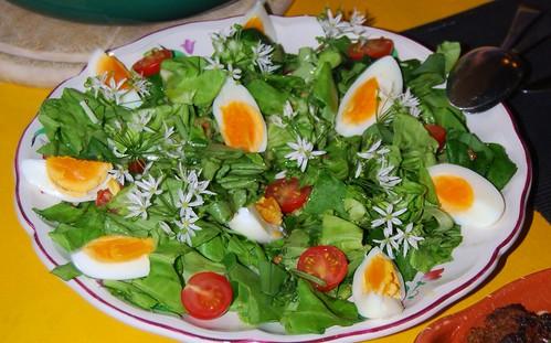 couscous en salade met daslook