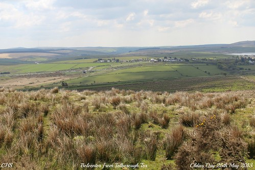Bolventor from Tolborough Tor by Stocker Images