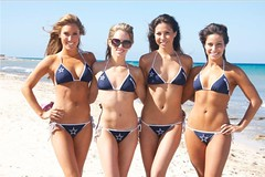 Dallas Cowboys Cheerleaders Calendar Shoot - Team Scuba 5 - The Boys Are Back blog 2013